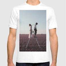 Draining love Mens Fitted Tee White SMALL