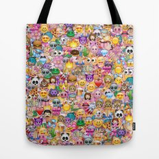 emoji / emoticons Tote Bag