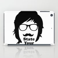 State Your Gender iPad Case