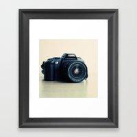 Film Camera Canon 5000 Framed Art Print