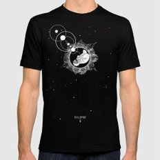ECLIPSE :: rebirth of the lost cosmonaut Black Mens Fitted Tee SMALL