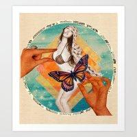 Sensasian I: Possess Art Print