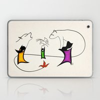 Three ghosts Laptop & iPad Skin