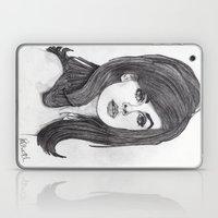 Jean Shrimpton Laptop & iPad Skin