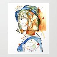 Portraits, Ann. Art Print