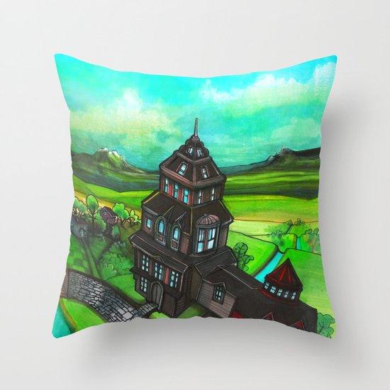 Terra Magica Throw Pillow