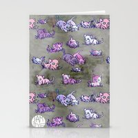 Field of Kittens Stationery Cards