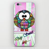 Owl Aztec  iPhone & iPod Skin