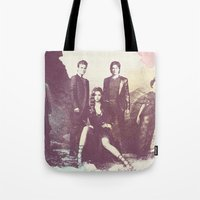 The Vampire Diaries TV Series Tote Bag