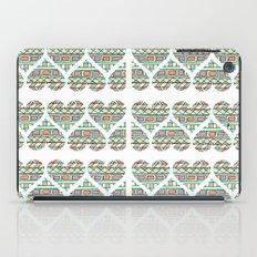 Aztec hearts iPad Case