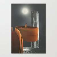 Ghosts Of Princes In Tow… Canvas Print