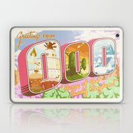 Greetings From Ooo / Adv… Laptop & iPad Skin