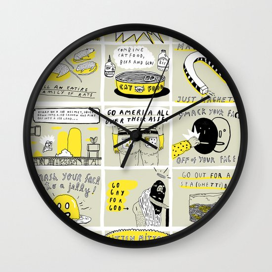 WHAT WOULD CHARLIE KELLY DO? Wall Clock