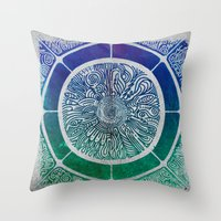Present Growth Throw Pillow