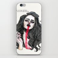 ''Cause I Was Filled Wit… iPhone & iPod Skin