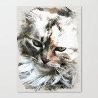 Darling 'Kitty' Canvas Print