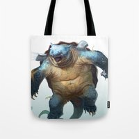 Pokemon-Blastoise Tote Bag