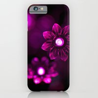 iPhone & iPod Case featuring Electric Flowers (Purple) by Jackie Wyant