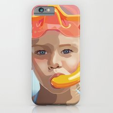 Snorkel Girl iPhone 6s Slim Case