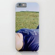 Sleeping Girl in Purple Shirt iPhone 6 Slim Case