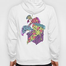 Pizza Eating Pizza - Pink Edition Hoody