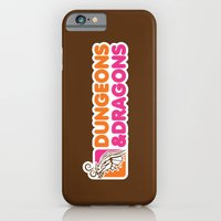 iPhone & iPod Case featuring D&D All Nighter by Grady