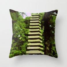 Japanese Pagoda Throw Pillow