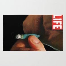LIFE MAGAZINE: Marijuana Rug