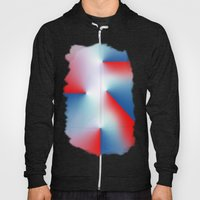 Red And Blue Hoody