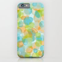iPhone & iPod Case featuring Pebbles Turquoise by ts55