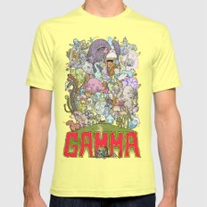 GAMMA cover SMALL Lemon Mens Fitted Tee