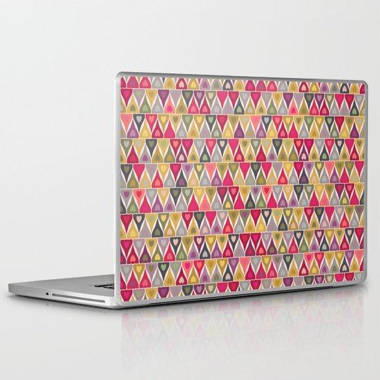 heart stack Laptop & iPad Skin