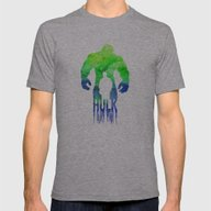 The Hulk  Mens Fitted Tee Athletic Grey SMALL