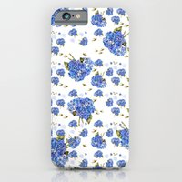 Cape Cod Hydrangeas and Birds iPhone 6 Slim Case