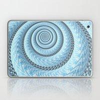 Spiral In Light Blue Laptop & iPad Skin