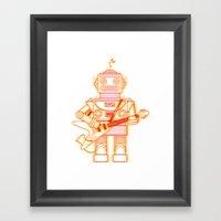 Rockbotics Framed Art Print