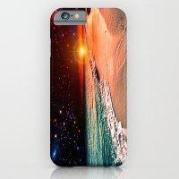 Galaxy beach iPhone 6 Slim Case