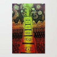 TIMEWIZARD Canvas Print