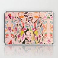 Laptop & iPad Skin featuring Alice In Wonderland  by Vasare Nar