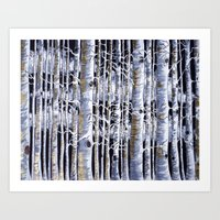 Birch Slap Art Print