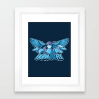 BORN TO FLY Framed Art Print