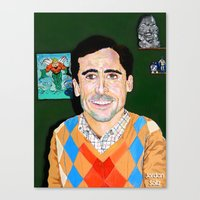 The 40 Year Old Virgin Canvas Print