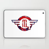 Metro Illusions - Anatom… Laptop & iPad Skin