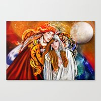 Twin Flame  Canvas Print