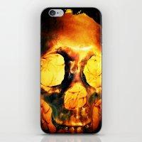 Flores Por Los Muertos. iPhone & iPod Skin