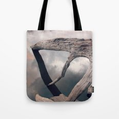 Suspended reflection Tote Bag