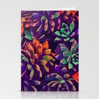 Cali Succulents 3 Stationery Cards