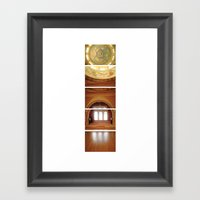 Daunting Dance Hall/ Bas… Framed Art Print