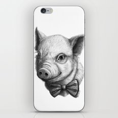 BowTie Piglet G136 iPhone & iPod Skin