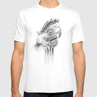 Caterpillar Mens Fitted Tee White SMALL
